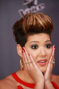 Tessanne Surprised
