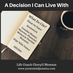 Decision Can Live With